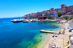 Albánie - Saranda na 8 dní, polopenze nebo snídaně s dopravou letecky z Prahy nebo Ostravy