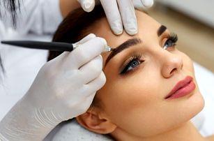 3D permanentní make-up obočí nebo rtů