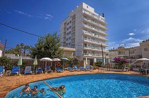 Španělsko - Mallorca na 8 až 15 dní, polopenze s dopravou letecky z Prahy nebo Brna 100 m od pláže