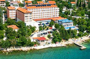 Hotel Mediteran *** s polopenzí a bazénem