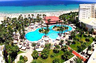 Tunisko - Sousse na 8 až 9 dní, all inclusive s dopravou letecky z Prahy přímo na pláži