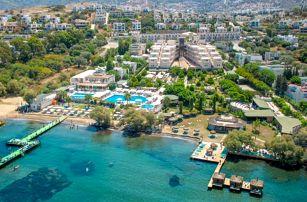 Turecko - Bodrum na 8 až 9 dní, all inclusive s dopravou letecky z Prahy přímo na pláži