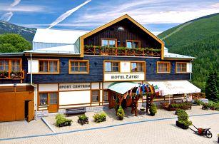 Podzim v horském hotelu s wellness a polopenzí