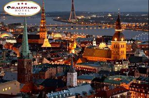 Krásný pobyt v Rize - 4 dny pro dva v malebné metropoli Lotyšska