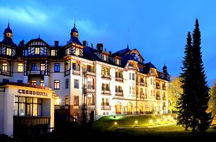 Akční wellness pobyt v exkluzivním Grandhotelu Starý Smokovec - Vysoké Tatry