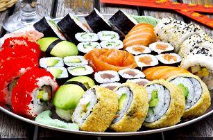 Sushi sety s sebou: 22, 30, 34, 42 nebo 50 ks