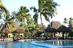Zanzibar - Uroa na 9 až 10 dní, polopenze nebo snídaně s dopravou letecky z Prahy