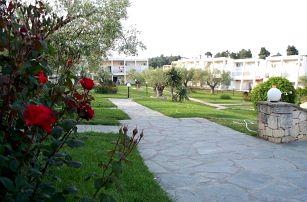 Řecko - Chalkidiki na 11 až 12 dní, all inclusive s dopravou letecky z Brna 350 m od pláže