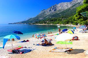 8–10denní Chorvatsko, Gradac | Dítě zdarma | Hotel Oasa*** s polopenzí | První řada u moře