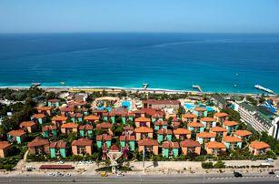 Turecko - Turecká Riviéra na 4 až 8 dní, all inclusive s dopravou letecky z Prahy nebo Pardubic přímo na pláži