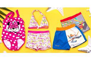 Dětské plavky s oblíbenými pohádkovými motivy