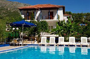 Řecko - Epirus na 10 až 12 dní, bez stravy s dopravou letecky z Brna, Prahy nebo autobusem 780 m od pláže