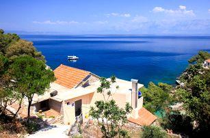 Chorvatsko - Hvar na 8 dní, bez stravy s dopravou vlastní 90 m od pláže