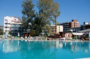 Bulharsko - Slunečné Pobřeží na 8 dní, light all inclusive, plná penze, polopenze nebo snídaně s dopravou letecky z Prahy nebo Brna 80 m od pláže