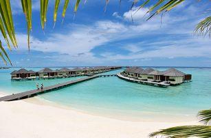 Maledivy - Severní Atol Male na 10 dní, plná penze, polopenze nebo bez stravy s dopravou letecky z Prahy přímo na pláži