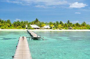 Maledivy - Jižní Atol Male na 9 až 11 dní, plná penze s dopravou letecky z Prahy přímo na pláži