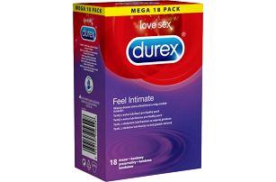 DUREX Feel Intimate 18 ks - jemné kondomy