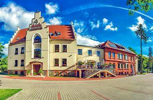 Romantické Polsko v elegantním hotelu jižně od Wroclawi s neomezeným wellness, polopenzí a lahví vína – bez víkendových příplatků