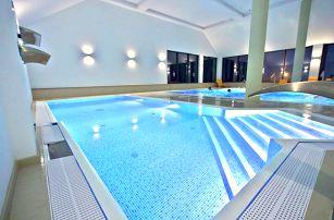 Polonica-Zdrój, luxusní hotel Nowy Zdrój s ozdravným a relaxačním centrem s polopenzí u hranic