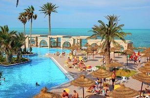 Tunisko - Zarzis na 8 až 13 dní, all inclusive s dopravou letecky z Prahy přímo na pláži