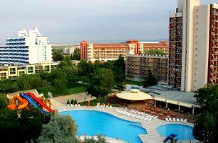 Bulharsko - Slunečné Pobřeží na 4 až 8 dní, all inclusive s dopravou letecky z Prahy 130 m od pláže