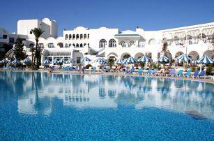 Tunisko - Zarzis na 8 dní, all inclusive s dopravou letecky z Prahy 150 m od pláže