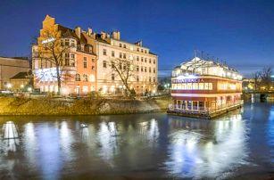 Pobyt na ostrově v centru Vratislavi