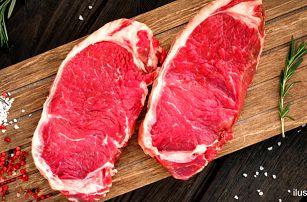 500 g argentinského hovězího striploin steaku
