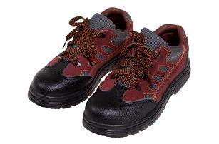 Boty pracovní kožené Red vel. 43
