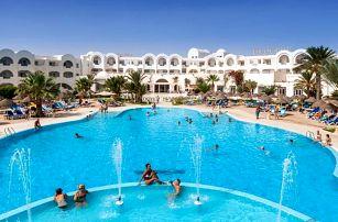 Tunisko - Djerba na 8 až 15 dní, all inclusive s dopravou letecky z Prahy přímo na pláži