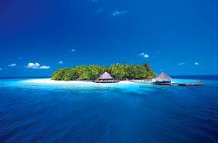 Maledivy - North Malé Atoll na 10 dní, polopenze nebo snídaně s dopravou letecky z Prahy přímo na pláži