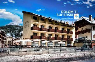 5denní Val di Fassa – Alpe Lusia (Moena) se skipasem | Hotel Deville*** | Doprava, ubytování, polopenze a skipas
