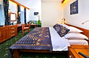 All inclusive v Harrachově: pokoj s vlastní saunou