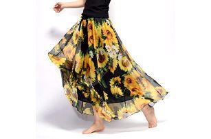 Dlouhá vzdušná sukně Summer - 14 - dodání do 2 dnů