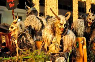 Výlet pro 1 osobu do Salzburgu v Rakousku na rej čertů a trhy