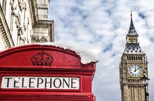 4denní poznávací zájezd pro 1 do Londýna s ubytováním včetně snídaně