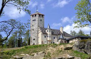 Hotel Liberecká výšina s rozhlednou a polopenzí