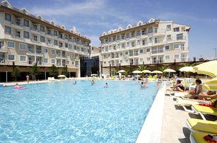 Turecko - Side na 5 až 8 dní, all inclusive s dopravou letecky z Prahy 250 m od pláže
