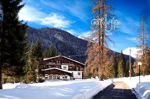 5denní Falcade se skipasem | Hotel Scoiattolo*** | Doprava, ubytování, polopenze a skipas
