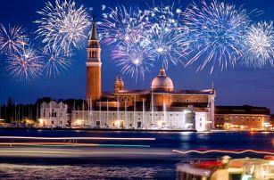 4denní Silvestr v Benátkách a městě lásky Verona + sekt do páru