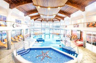 Hotel Europa Fit Superior s neomezeným wellness přímo u jezera v Hevízu