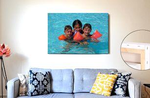 Fotoobraz na plátně a rámu z masivního dřeva