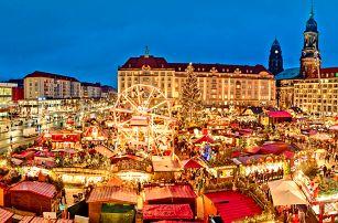 Vlakem do adventních Drážďan: trhy i plavba lodí