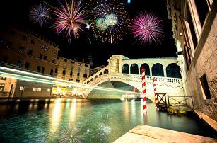 Silvestr v Benátkách a Veroně   4denní autobusový zájezd s ubytováním