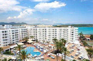 Španělsko - Mallorca na 8 dní, all inclusive s dopravou letecky z Prahy 25 m od pláže