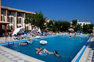Řecko - Korfu na 4 až 5 dní, polopenze nebo snídaně s dopravou letecky z Prahy 250 m od pláže