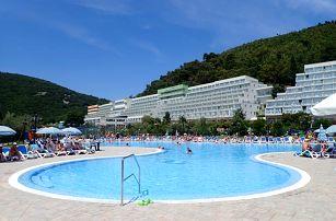 Chorvatsko - Rabac na 4 až 15 dní, bez stravy s dopravou vlastní 100 m od pláže