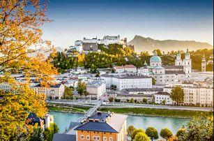 Pobyt v malebném Mozartově Salzburgu pro dva. Až 2 děti do 17 let zdarma