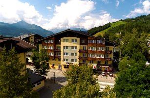 Rakousko - Kaprun / Zell am See na 2 dny, polopenze nebo snídaně s dopravou vlastní