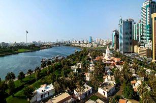 Spojené arabské emiráty - Sharjah na 4 až 8 dní, polopenze nebo snídaně s dopravou letecky z Prahy